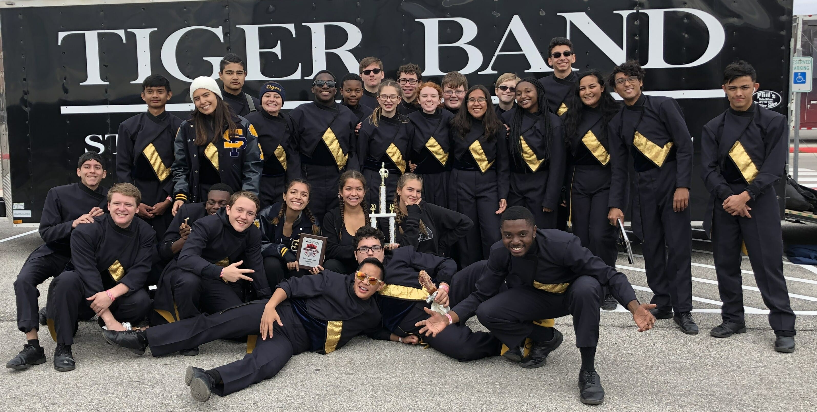 Tigers win 2018 South Texas Drumline Classic