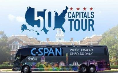 C-SPAN Bus Visiting SPHS