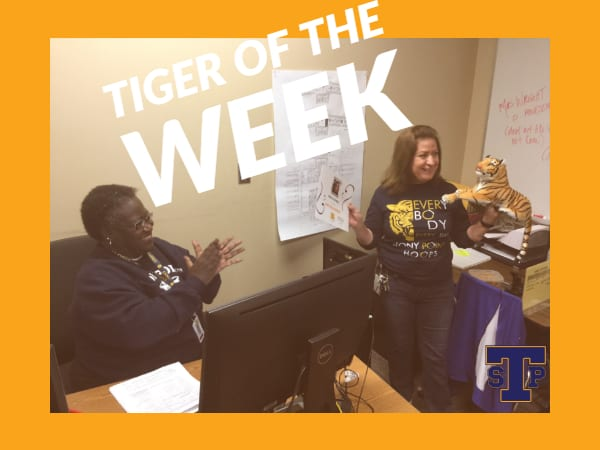 Tiger of the Week 2/11/2019