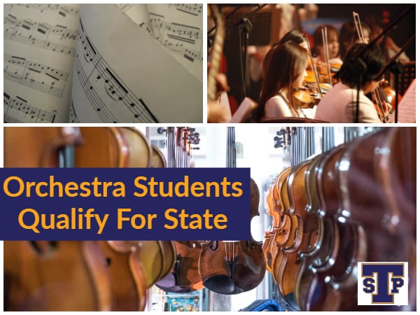 Orchestra Students Qualify For State