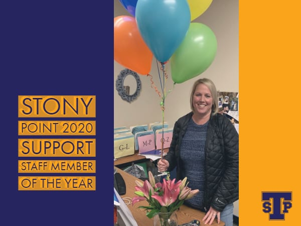Support Staff Member of the Year