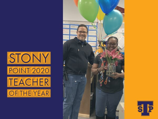 Stony Point Teacher of the Year