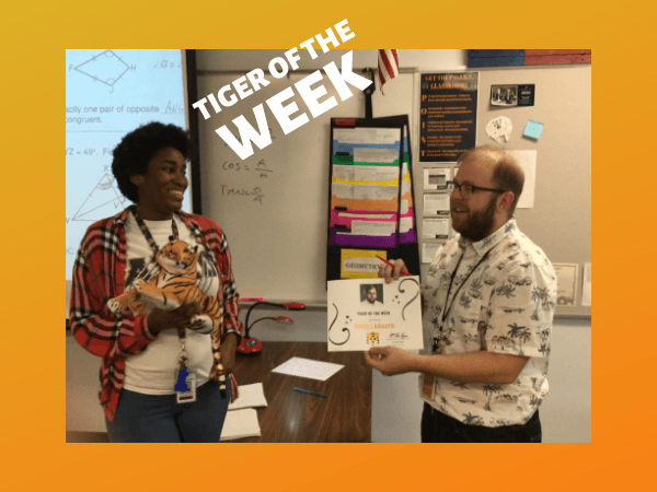 Tiger of the Week 3/11/2019