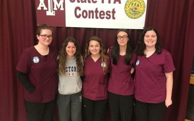 Vet Science Team Places at State FFA contest
