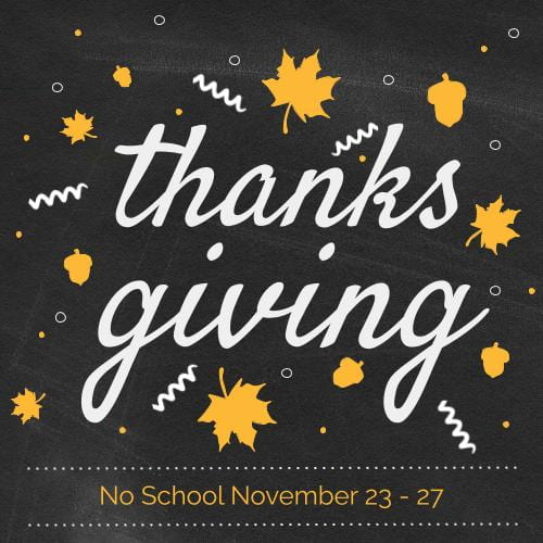 No School for Students/Staff Development, October 12th and 13th