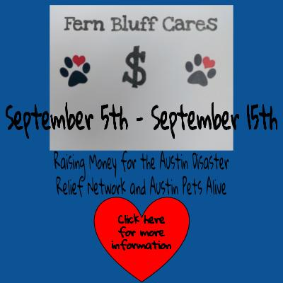 Fern Bluff Cares - Hurricane Harvey Relief Click here for more information