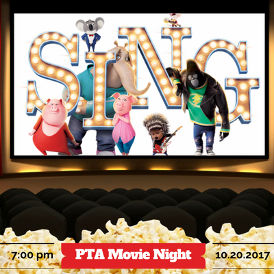 PTA Movie Night October 20th