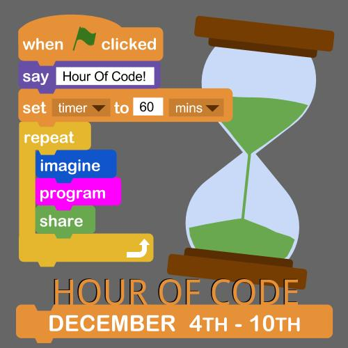 Hour of Code December 4th-10th