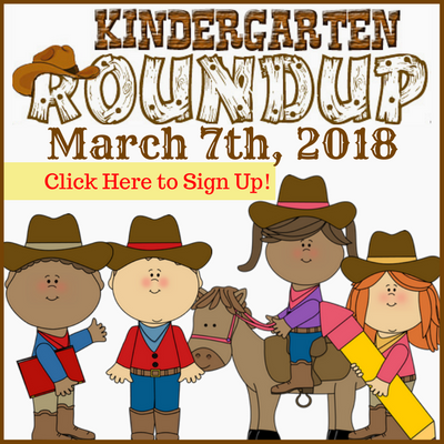 Kindergarten RoundUp March 7th, 2018