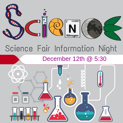 Science Fair Information Night 12/12 at 5:30