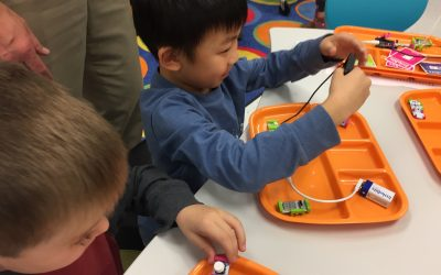 Innovation Lab Welcomes Kindergarteners