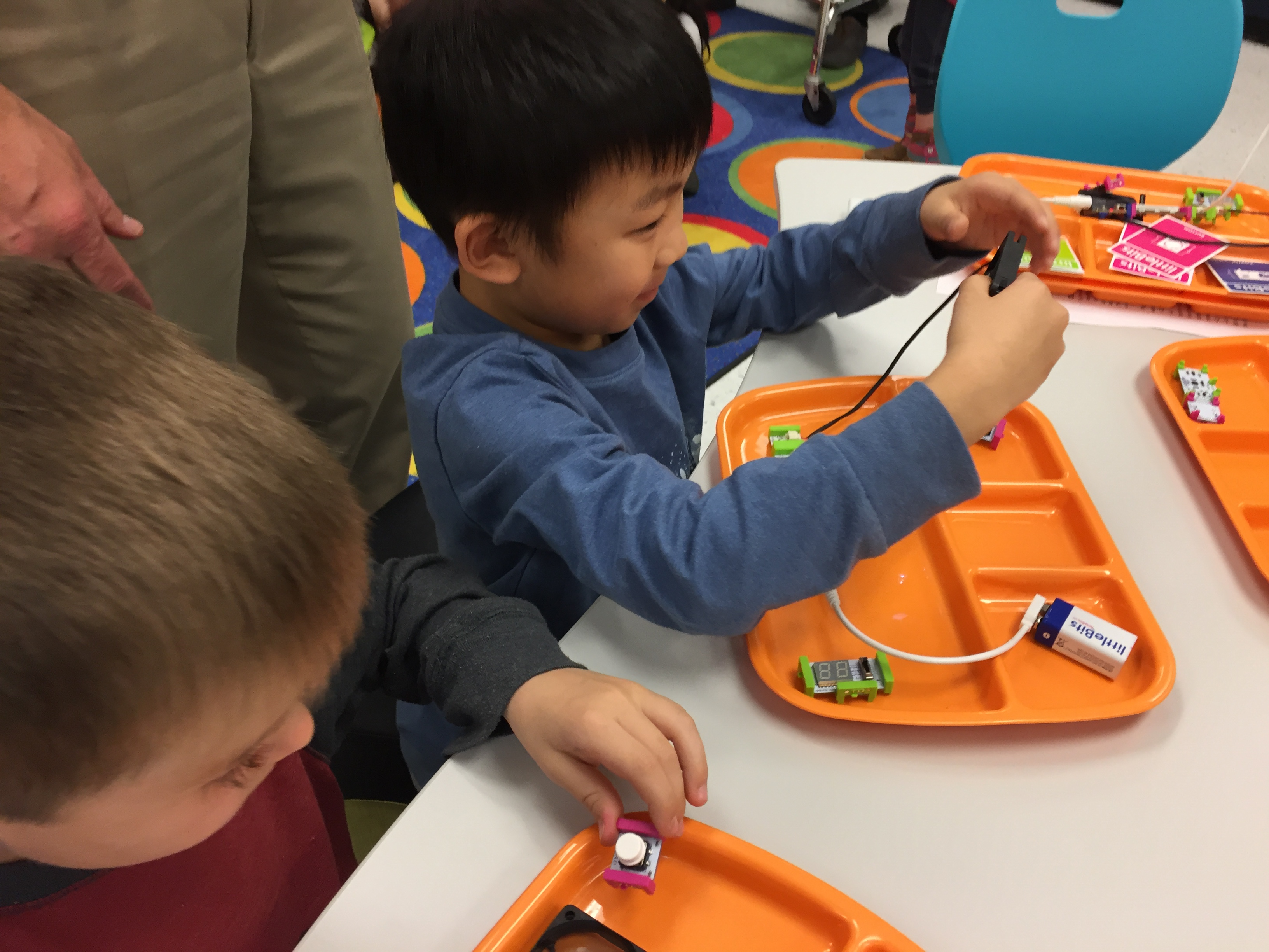 Innovation Lab Welcomes Kindergarteners