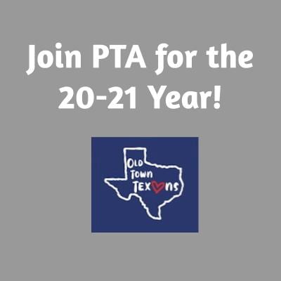 Join PTA for the 20-21 Year