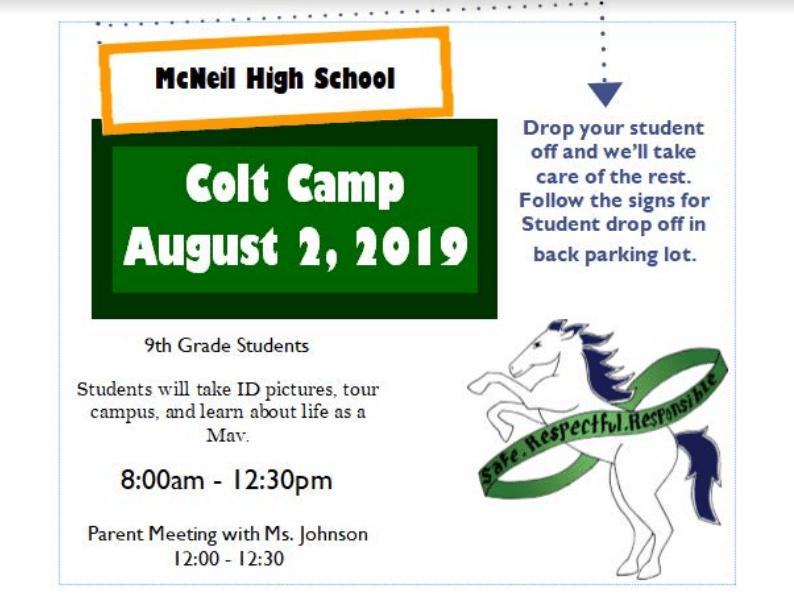 Colt Camp - August 2, 2019