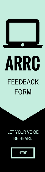 ARRC Feedback form: let your voice be heard button