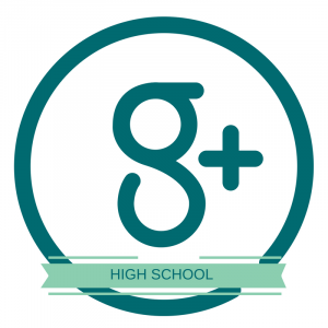G+ High School Button