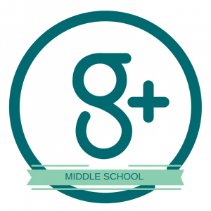 G+ Middle School button
