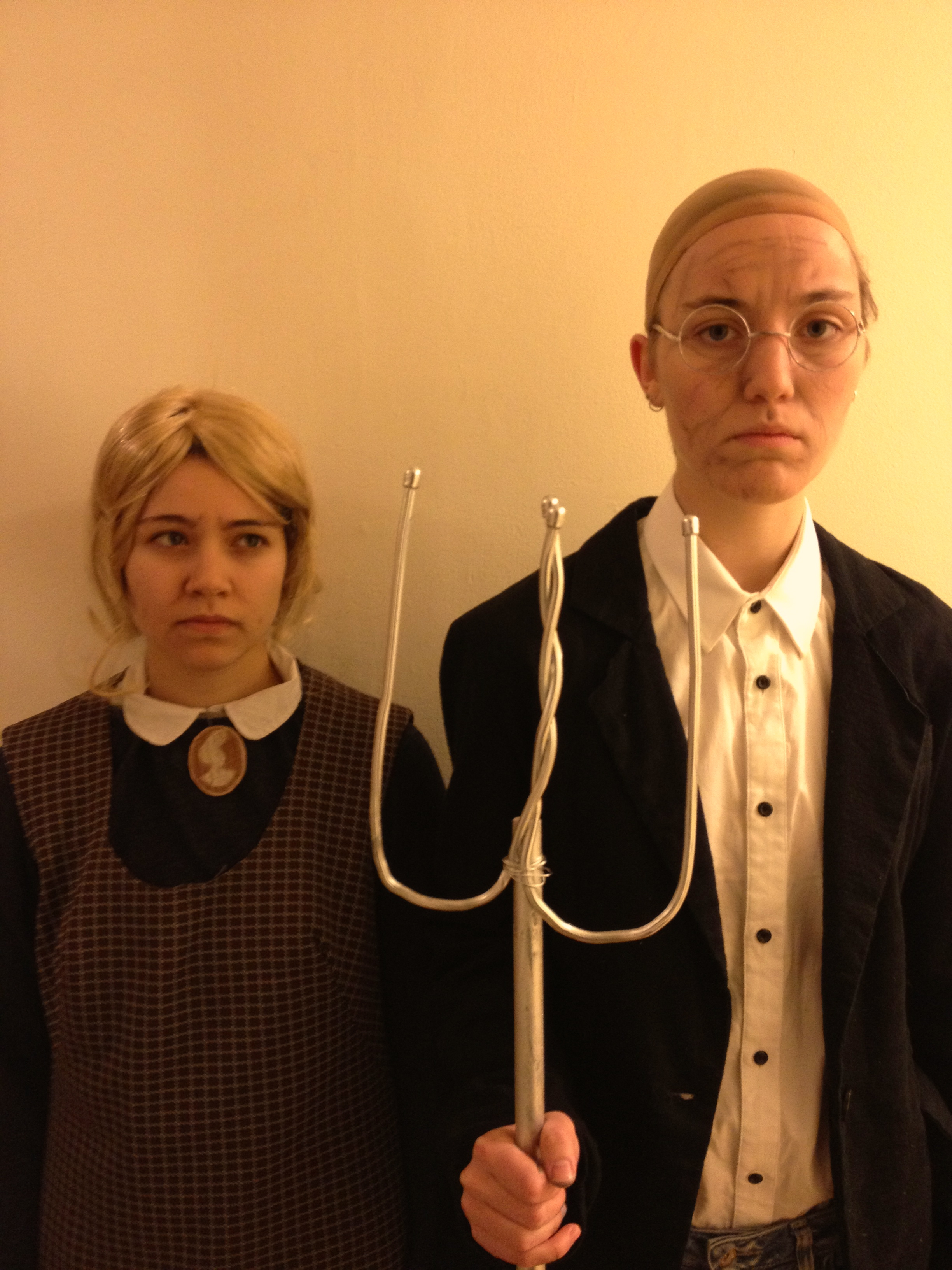 Our Halloween Costume Inspired By American Gothic