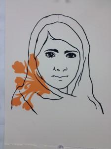 Malala Yousafzai Print