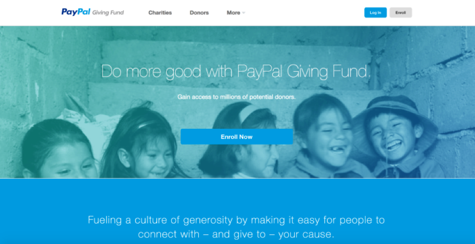PayPal Misleads Giving Fund Donors on Where Funds Were Donated