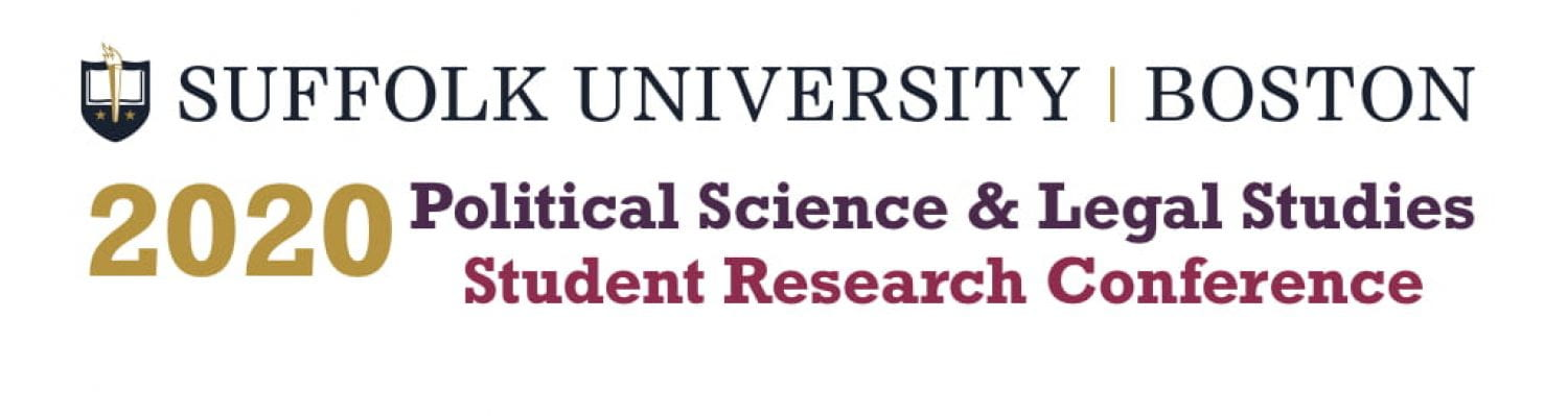 Political Science & Legal Studies Student Research Conference