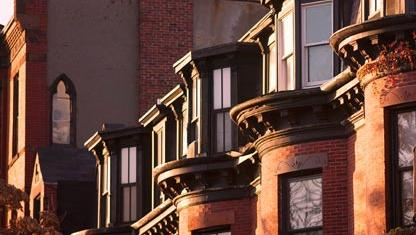 Beautiful Brownstones of Suffolk University