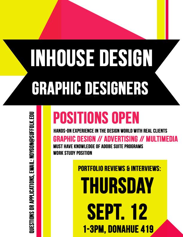 job flyer design
