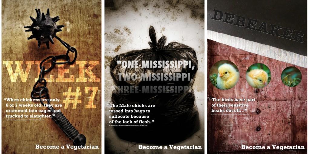Vegetarian Ads