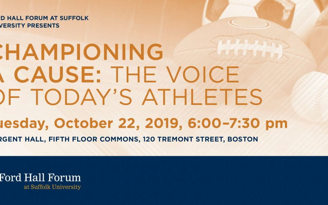 Championing a Cause: The Voice of Today's Athletes