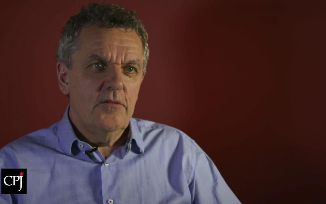 Threats to the Press Around the World- Robert Mahoney