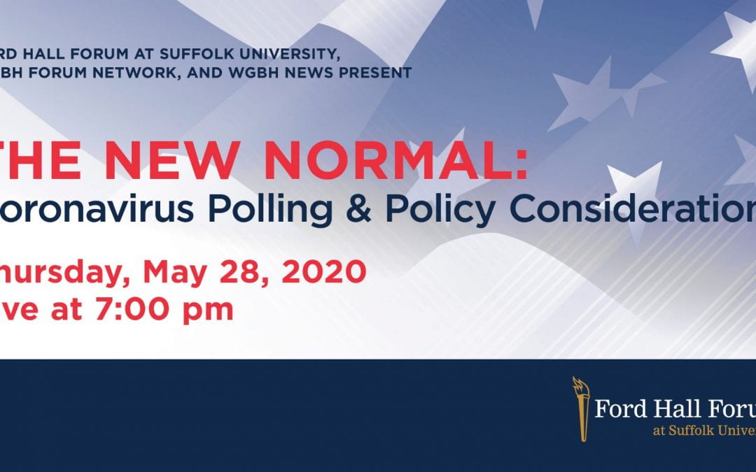 WGBH: The New Normal- Coronavirus Polling & Policy Implications