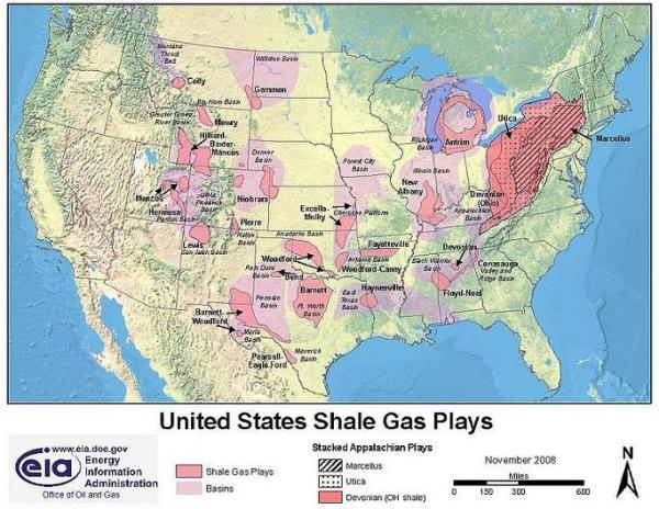 Of Natural Gas In The U S The Marcellus Shale Which Spans A Considerable Area In The Northeast As Demonstrated By The Map Below Water Contamination