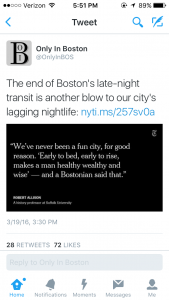 Only in Boston- Professor Allison