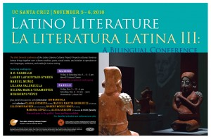 Latino Literature III Poster