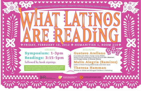 What Latinos Are Reading Poster B