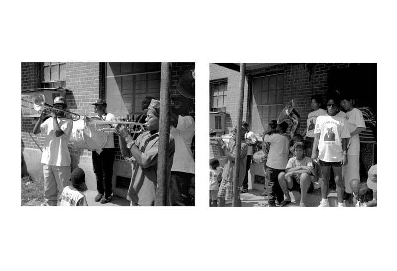 007 Wake & Brass Band Caliope Housing Projects New Orleans 1994
