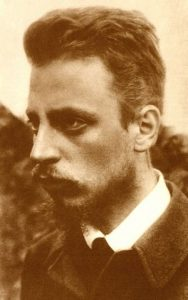 Portrait of Poet Rainer Maria Rilke