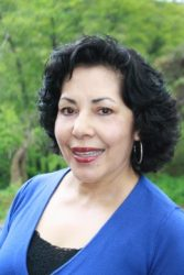 Olga Ramirez in Blue