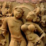 Mithuna or Loving Couple on the Kandariya Mahadeva Temple