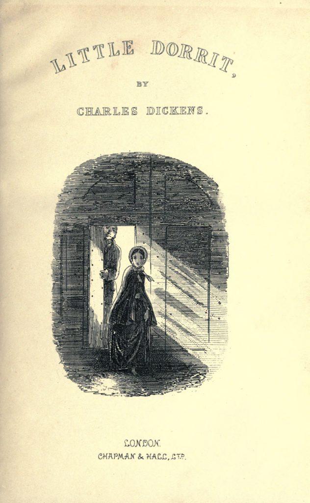Little Dorrit Title Page. Illustration by Phiz.