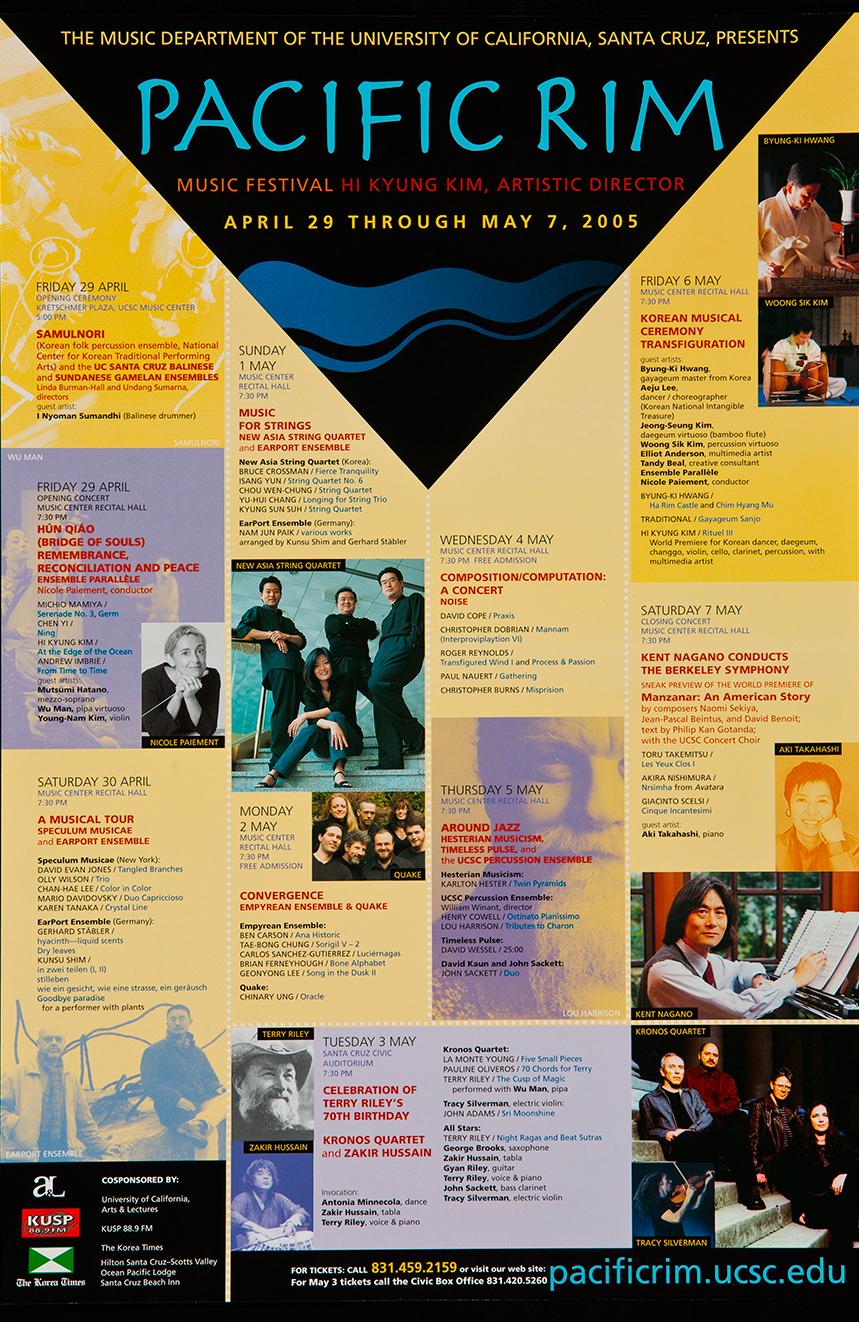Pacific Rim Music Festival 2005