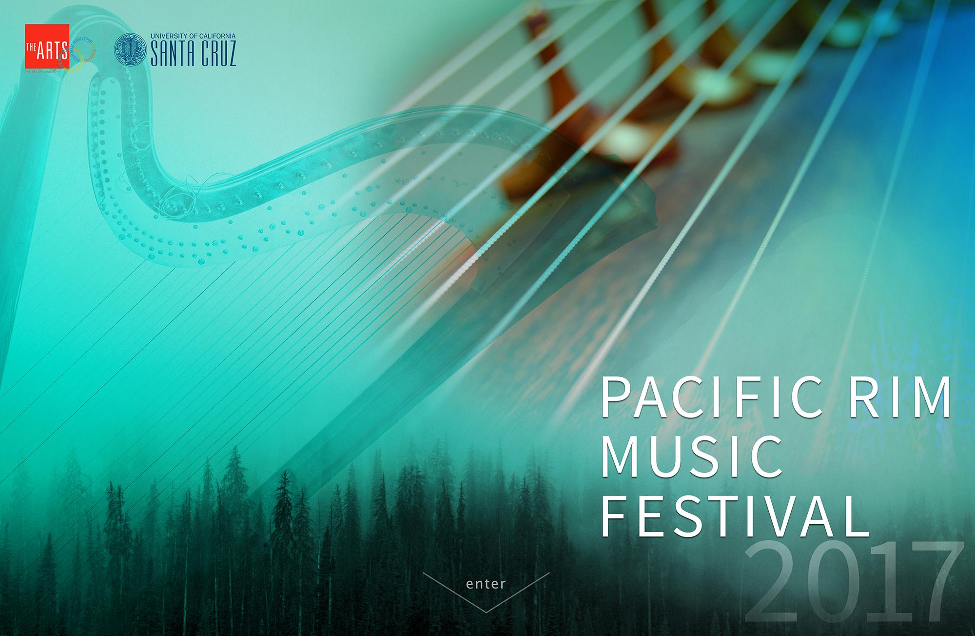 Pacific Rim Music Festival 2017, UC Santa Cruz, Arts Division