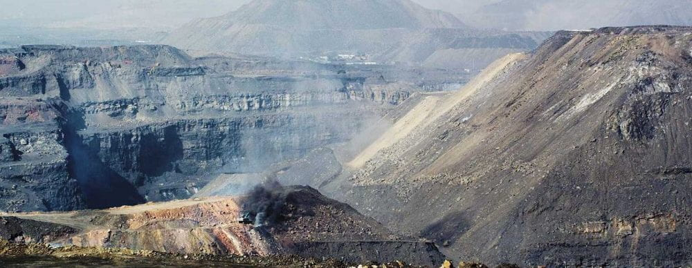 an image of mountain top removal.