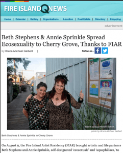 Fire Island News review