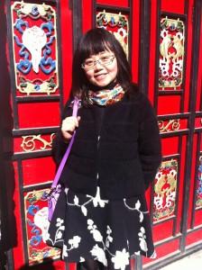 at a Tibetan village near my hometown Chengdu