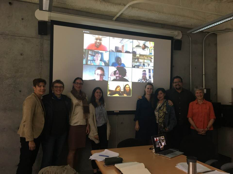 Jenny Reardon, Lesley Green, Kali Rubaii, Stephanie McCallum, Lina Pinto García, Nikiwe Solomon, Michelle Pressend, Maya Marshak, Kristina Lyons, Krisha J. Hernández, Alberto Morales, and Donna Haraway with 10 ZOOMed locations from South Africa, Colombia, Zimbabwe and Mozambique