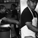 Men in Dish Room