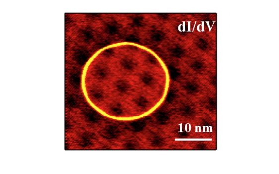 Characterization of individual defects in insulating hBN using STM