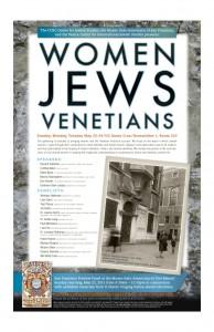 Women, Jews, Venetians Poster