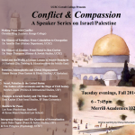 Conflict and Compassion Lecture Series flyer